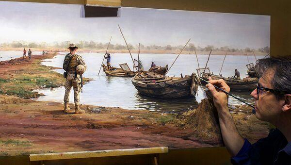 Живопись как свидетельство: современные войны в работах испанского художника