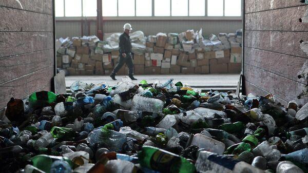 Сортировка мусора. Архивное фото