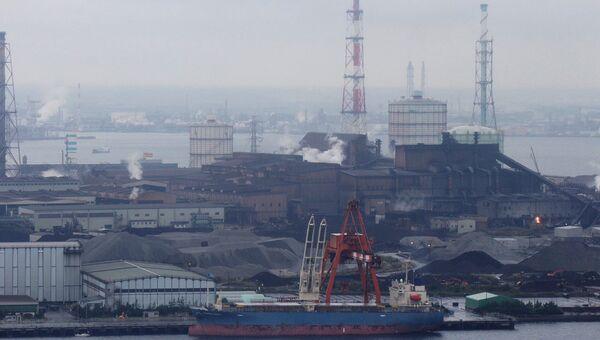 Угольная ТЭС в префектуре Тиба, Япония