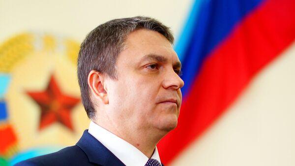 Временно исполняющий обязанности главы Луганской Народной Республики Леонид Пасечник
