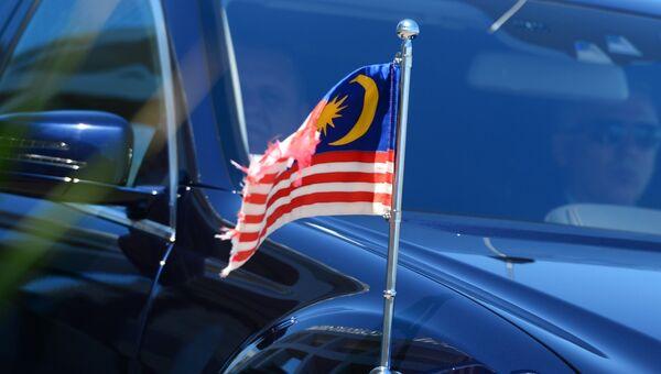 Прибытие главы делегации Малайзии к конгресс-центру в Сочи