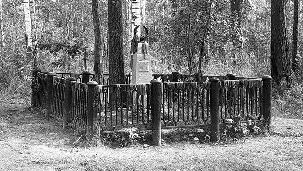 Обелиск на месте гибели Павлика и Феди Морозовых