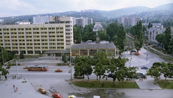 Вид центра города Новороссийска.