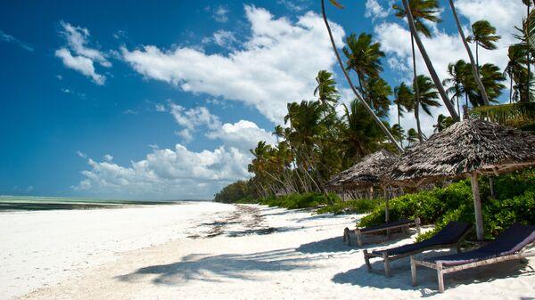Пляж в Занзибаре