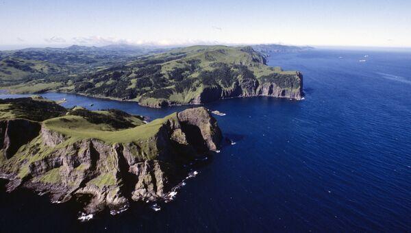 Остров Шикотан. Архивное фото