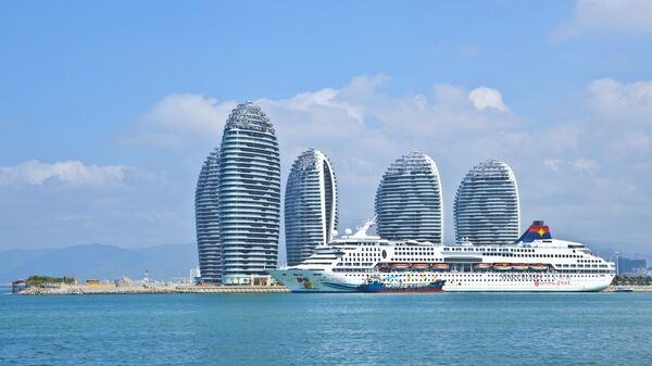 Остров Феникс, расположенный к югу от острова Хайнань в Китае
