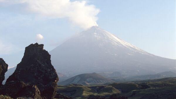 вулкан Ключевская сопка на Камчатке