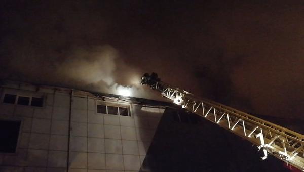 Пожар в ТЦ Бум во Владивостоке. 19.11.2018