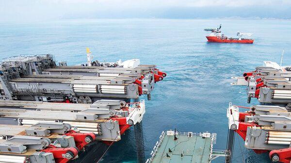 Строительство газопровода Турецкий поток