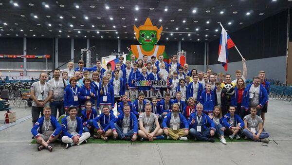 Российская сборная приняла участие во всемирной олимпиаде роботов WRO 2018