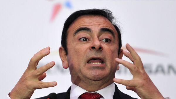 Экс-глава альянса Renault-Nissan Карлос Гон. Архивное фото