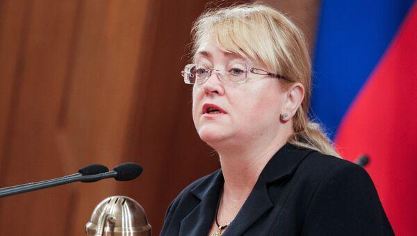Экс-министр финансов Республики Крым Ирина Кивико. Архивное фото