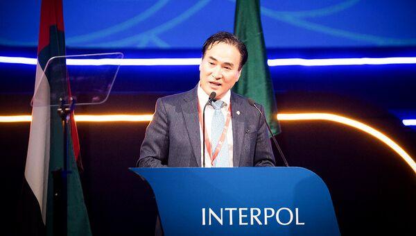 Избранный новым президентом Интерпола Ким Чон Ян
