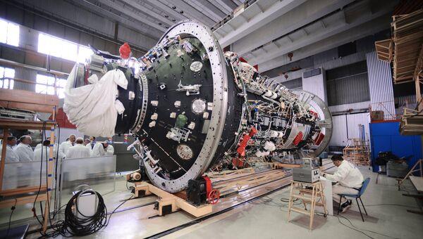 Цех Государственного космического научно-производственного центра имени М. В. Хруничева. Архивное фото
