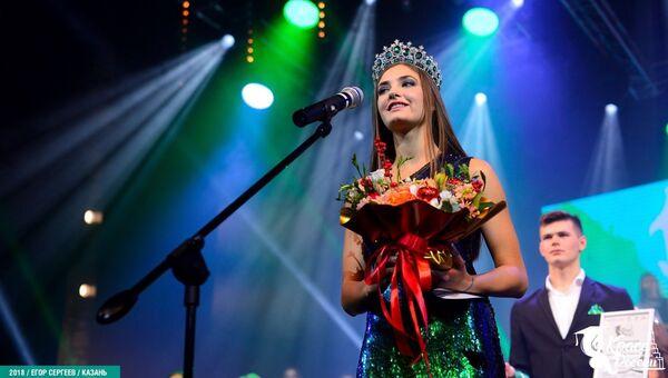 Победительница конкурса Краса студенчества России - 2018 Алина Зарейник