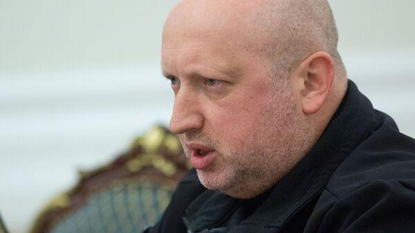 Экс-секретарь СНБО Александр Турчинов
