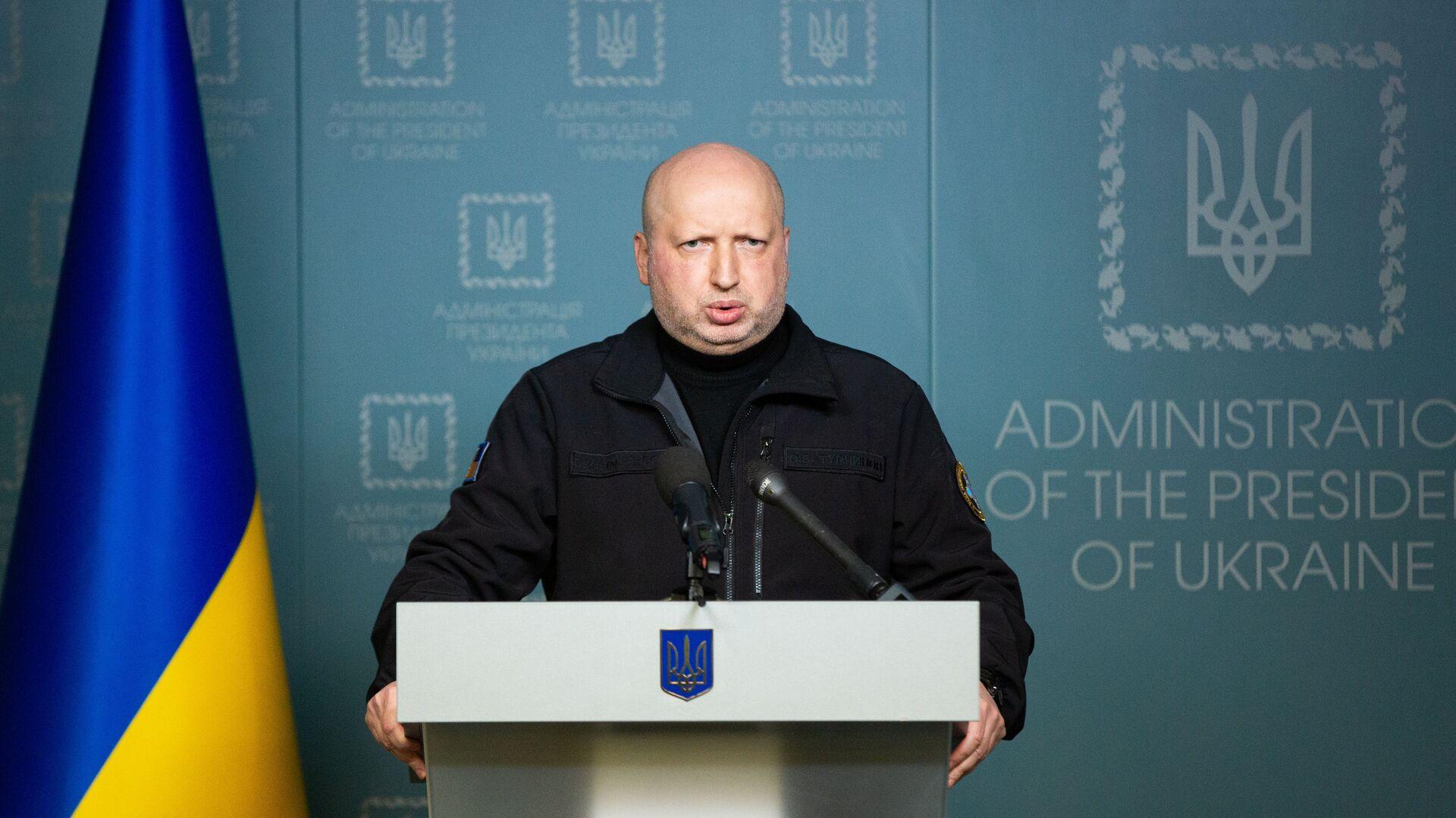 Экс-секретарь СНБО Александр Турчинов - РИА Новости, 1920, 27.02.2021