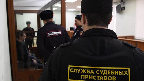 Активисты запрещенного в РФ движения Артподготовка в Московском окружном военном суде