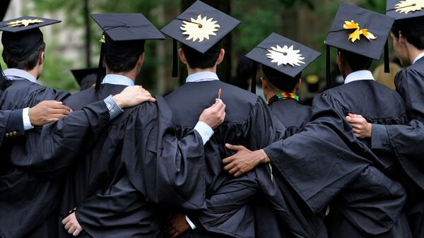 Выпускники Йельского университета. Архивное фото