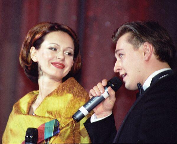 Ирина и Сергей Безруковы. Архив