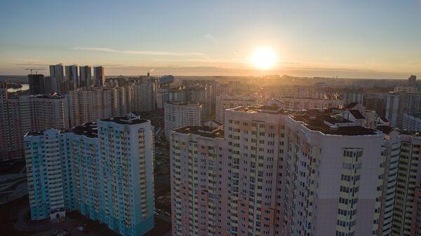 Жилые дома города Красногорска Московской области. Архивное фото