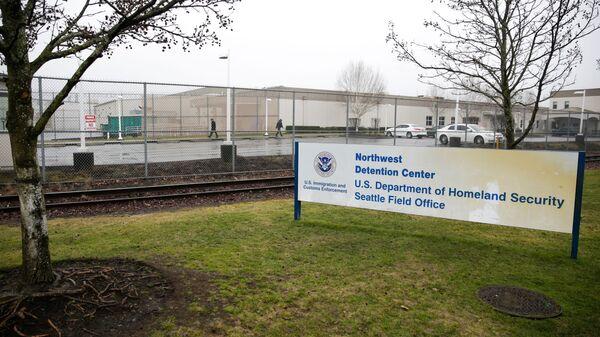 Центр временного размещения нелегальных иммигрантов в штате Вашингтон