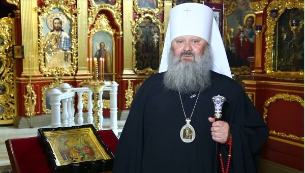 Наместник Киево-Печерской лавры митрополит Павел. Архивное фото