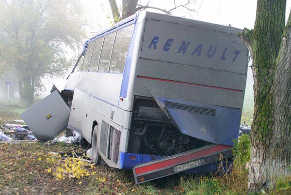 Авария автобуса на Кубани