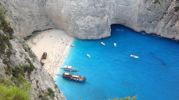 Пляж Навайо. Закинф, Греция