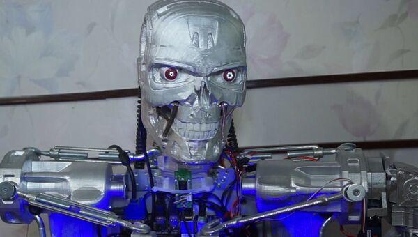 Пермский инженер создал говорящего ''Терминаторa''