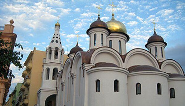 Храм Казанской иконы Божией Матери в старой Гаване