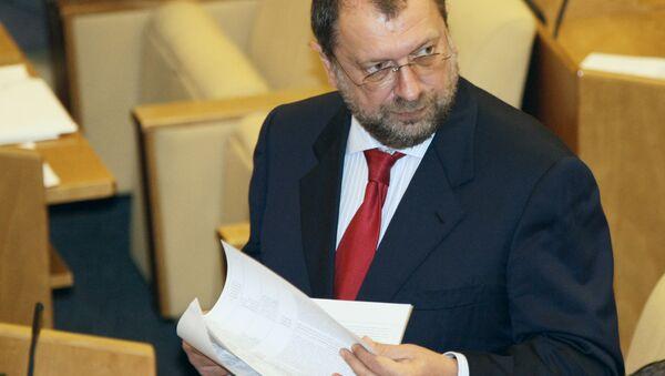 Депутат Госдумы РФ Владислав Резник. Архивное фото