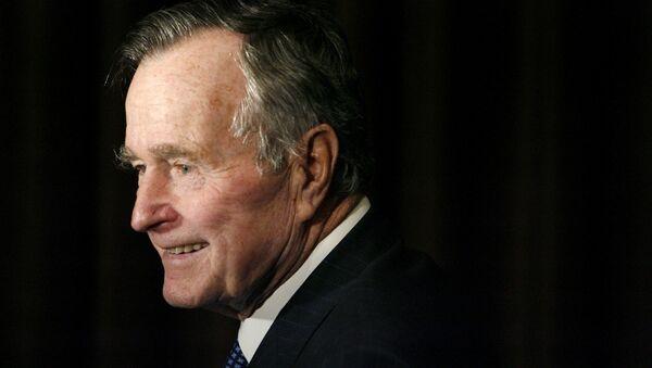 Джордж Буш-старший. Архивное фото