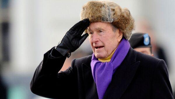 Бывший президент США Джордж Герберт Уокер Буш. 2009 год