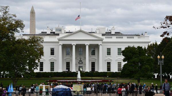 Белый дом в Вашингтоне, официальная резиденция президента США