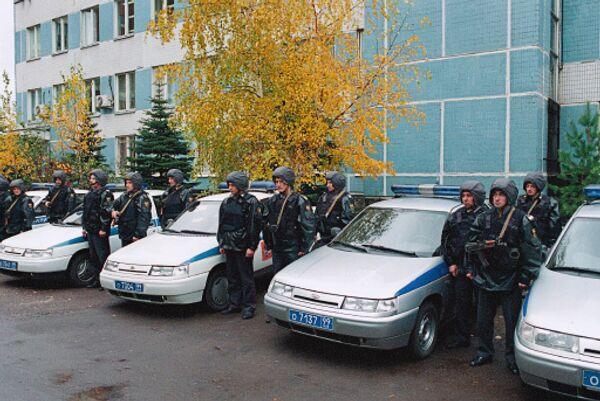 Группы задержания - экипажи вневедомственной охраны