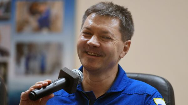 Российский космонавт Олег Кононенко