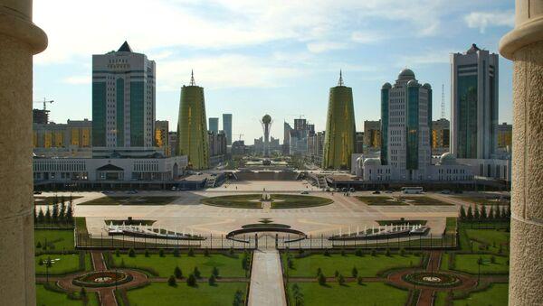 Столица Казахстана Астана. Архив