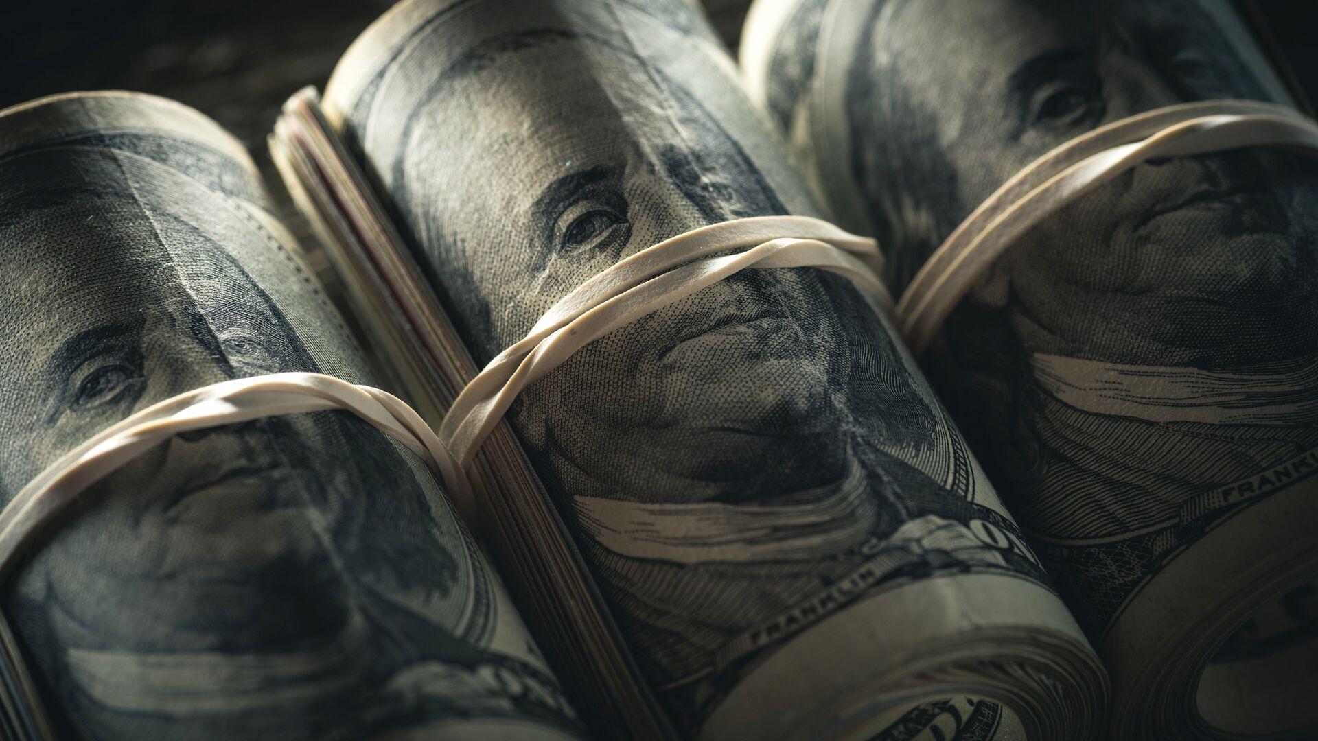 Американские доллары - РИА Новости, 1920, 25.02.2021