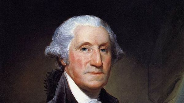 1-й президент США  Джордж Вашингтон