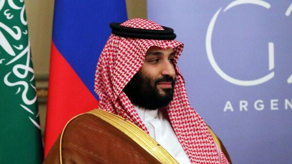 Наследный принц Саудовской Аравии Мухаммед бен Сальман аль Сауд на саммите Группы двадцати G20 в Буэнос-Айресе