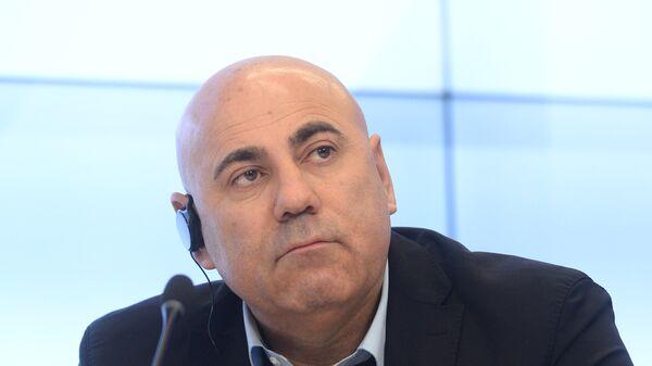 Иосиф Пригожин на пресс-конференции