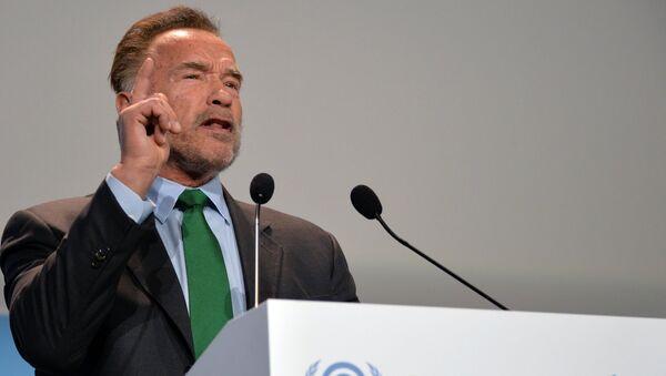 Арнольд Шварценеггер на 24-й конференции ООН по изменению климата в Катовице