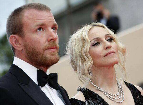 Мадонна и Гай Ричи в Каннах. Архив