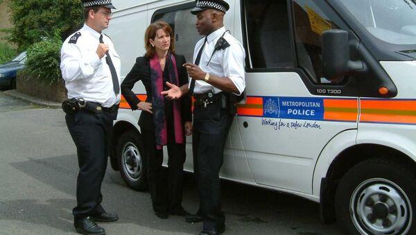 Британские полицейские, архивное фото