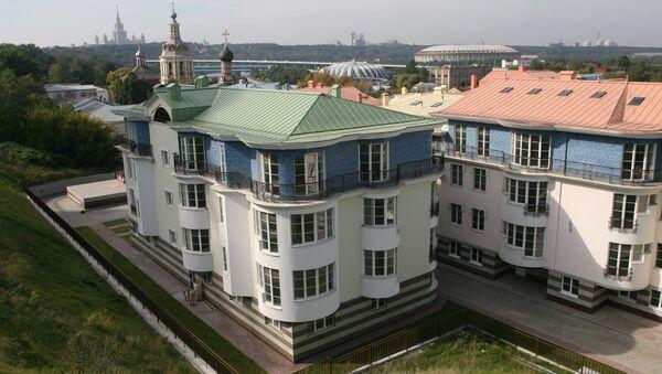 Элитное жилье в Москве - жилой комплекс Green Hills. Архив