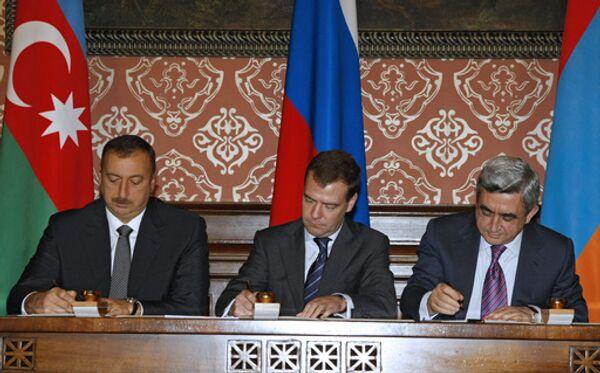 Переговоры по проблеме Нагорного Карабаха. Архив