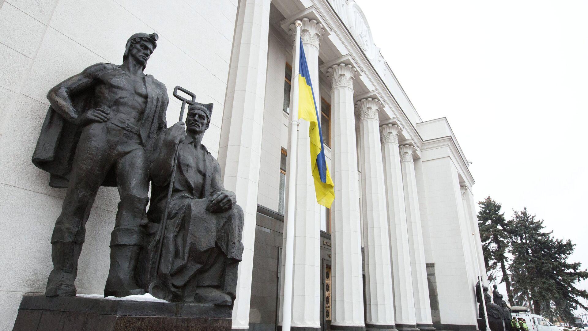 Здание Верховной рады Украины в Киеве - РИА Новости, 1920, 30.09.2020