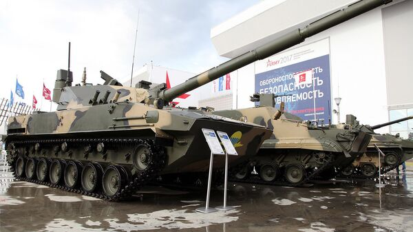Авиадесантная самоходная противотанковая пушка Спрут-СДМ1