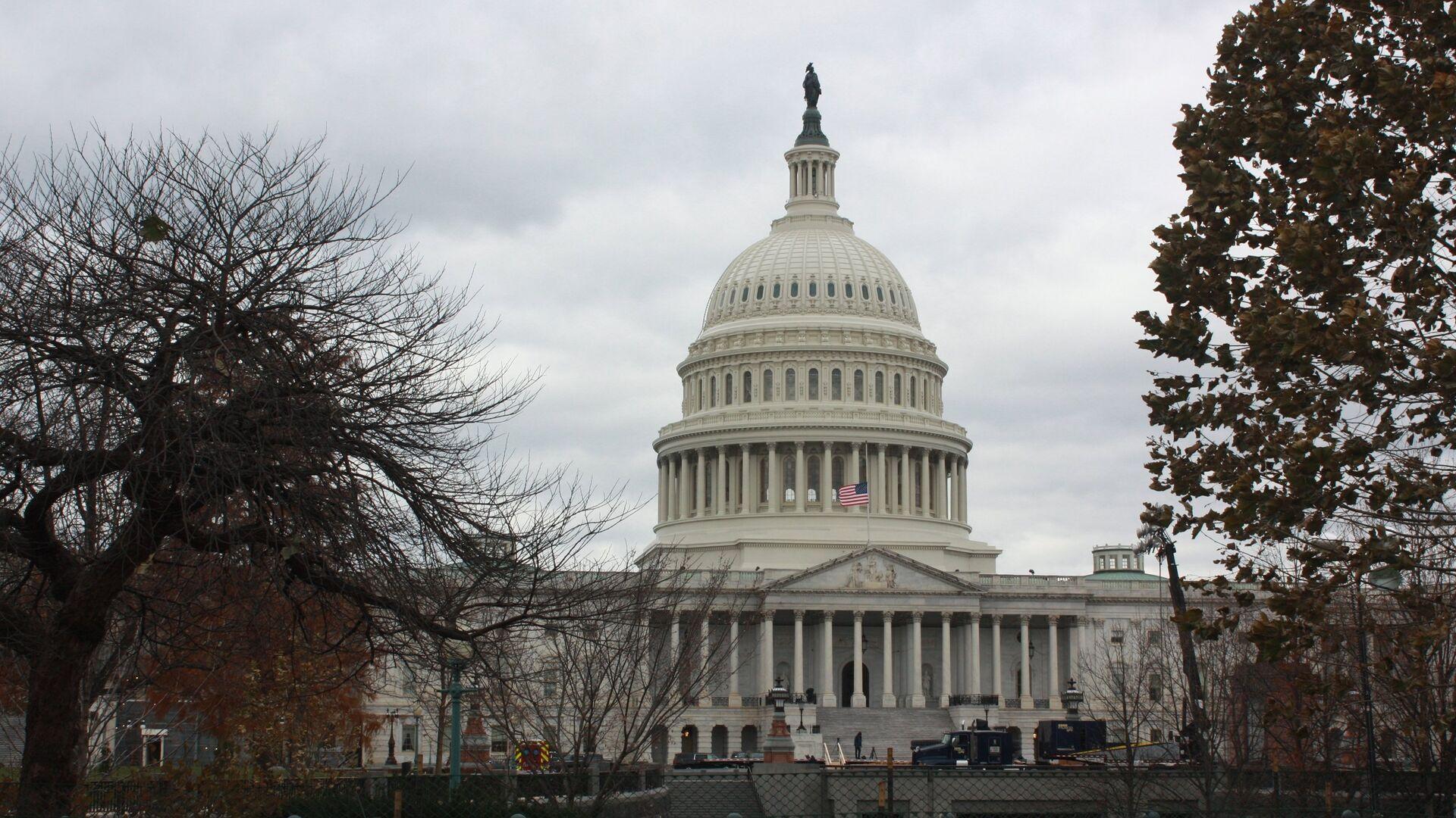 Здание Конгресса в Вашингтоне - РИА Новости, 1920, 18.01.2021